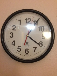 geezer's age reducing clock